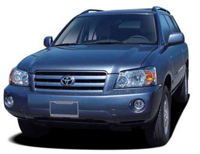 Toyota Highlander Models